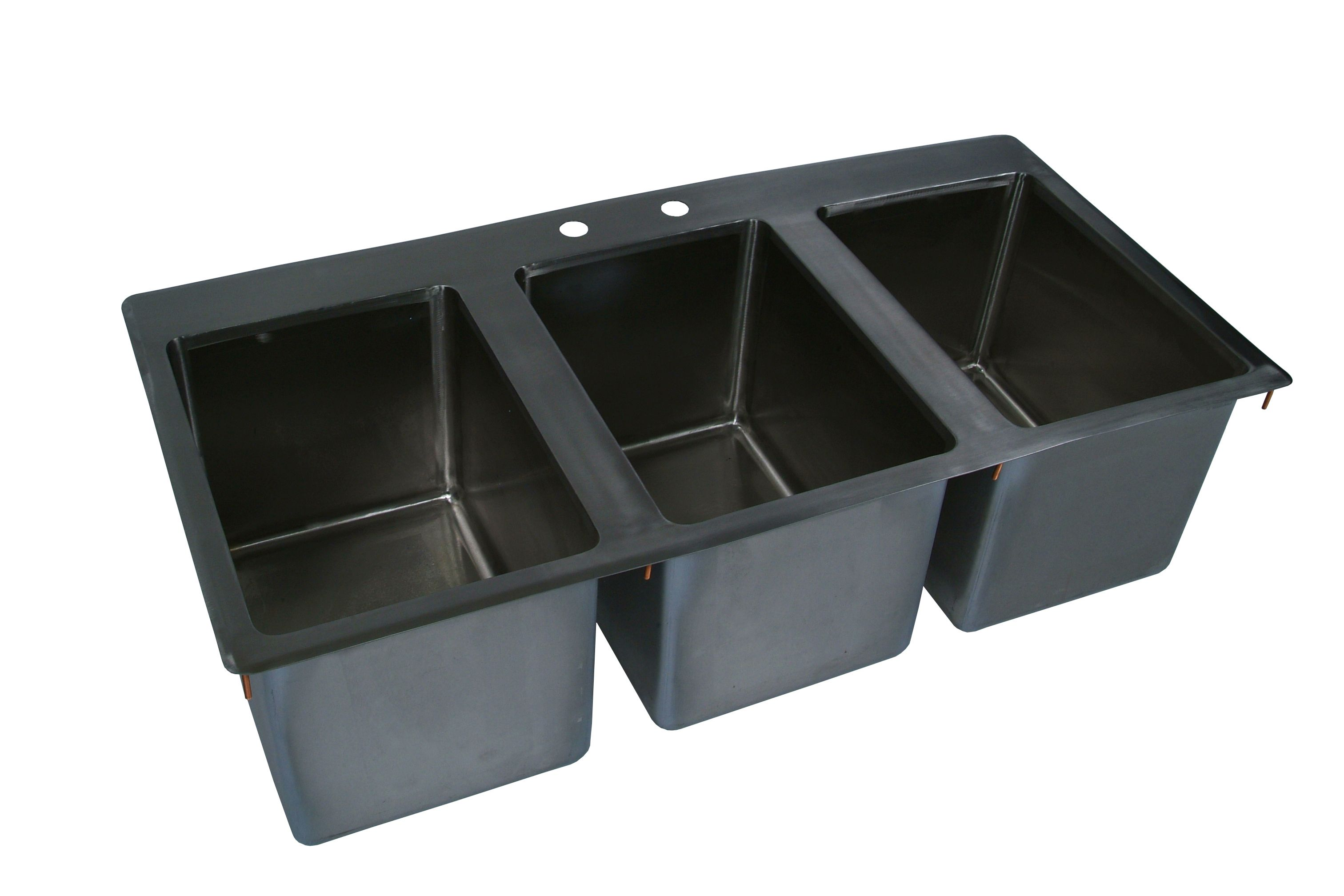 Quality Commercial Kitchen Equipment - Complete Drop-In Sink 36\