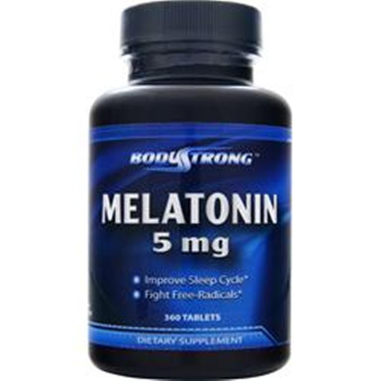Save Money Sleep better! BodyStrong Melatonin 5 mg 360 or 720 Tab Improves sleep Made in USA Ship Free #BodyStrong