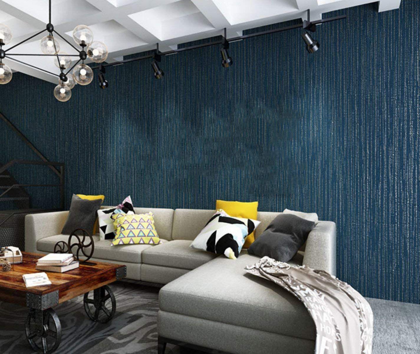 Home küche einfache design bilder modern fashion nonwoven schaum streifen tapete schlafzimmer