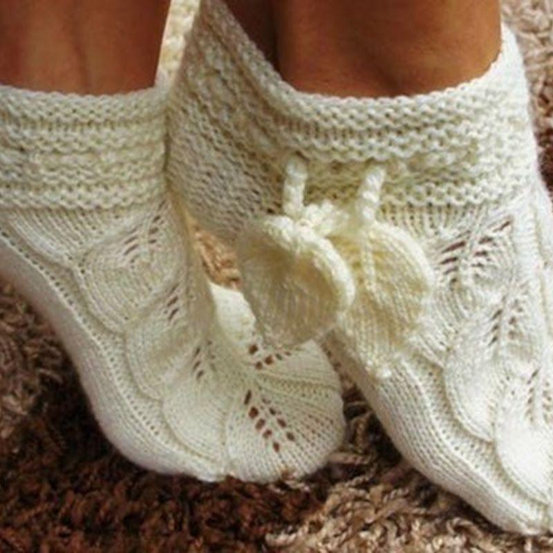 Тапочки носочки своими руками фото 700
