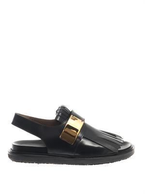Fussbett leather sandals
