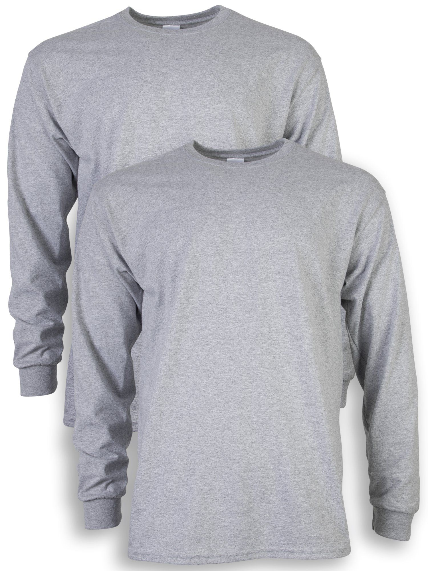 c6bddf19245 Gildan Mens Ultra Cotton Adult Long Sleeve TShirt 2Pack Sport Grey XLarge  -- Visit the image link more details. Note  It s an affiliate link to  Amazon   ...