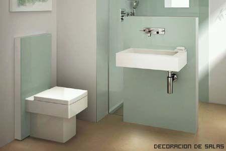 Cisterna empotrada vidrio design bathroom toilet y house - Cisterna empotrada ...