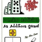 Domino Addition Game! (For Elementary)