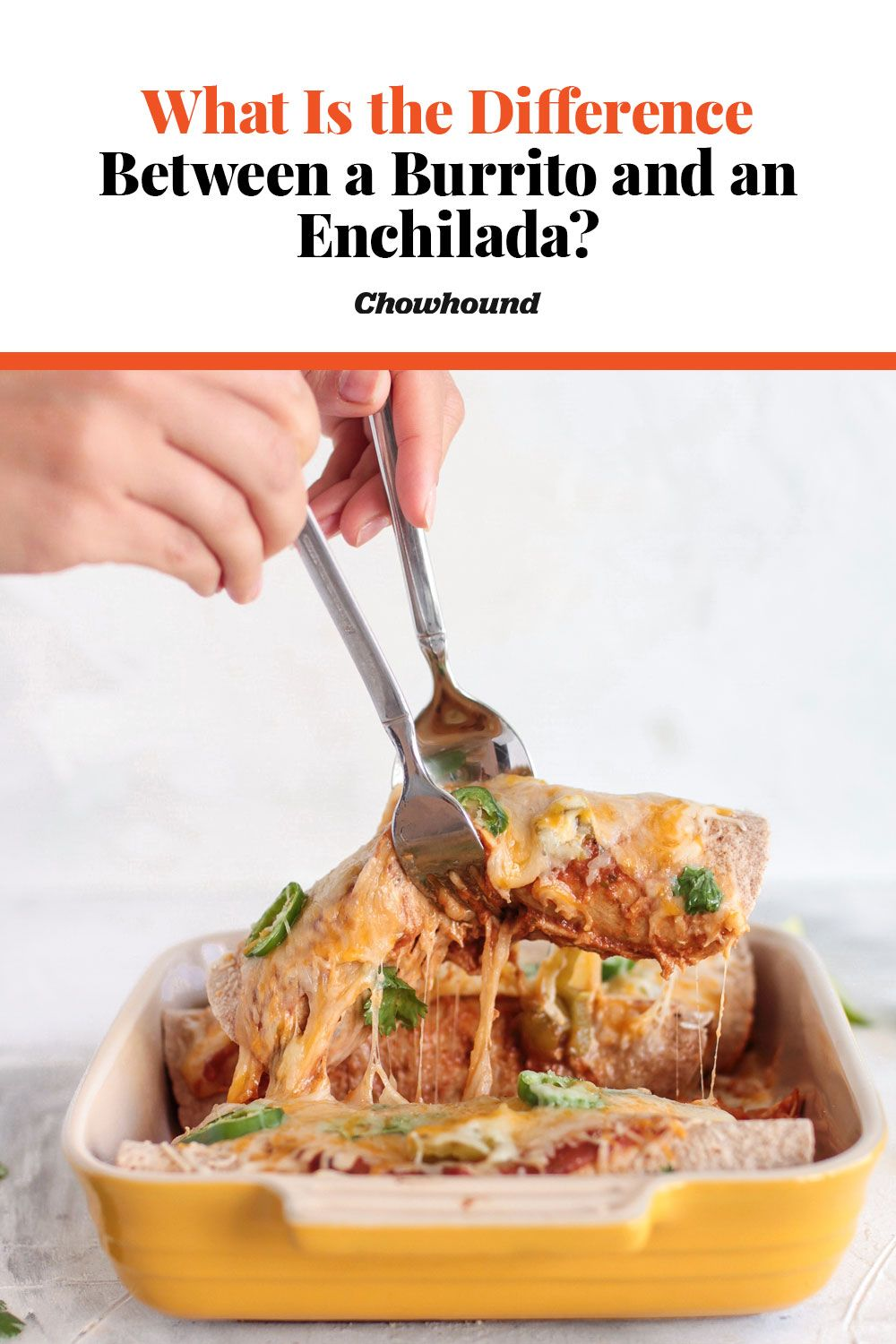 What Is the Difference Between a Burrito and an Enchilada