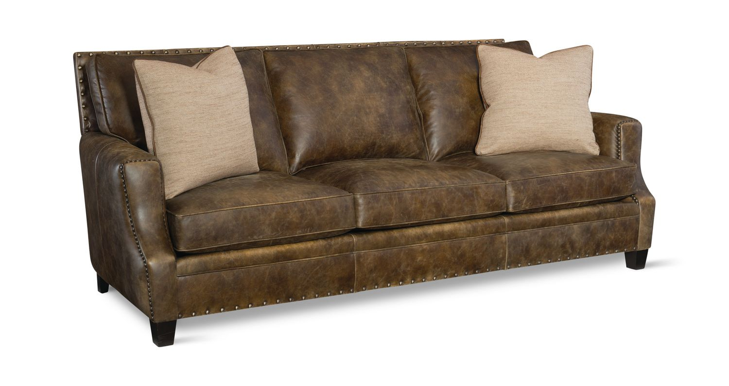Barclay Leather Sofa Hom Furniture Furniture Stores In