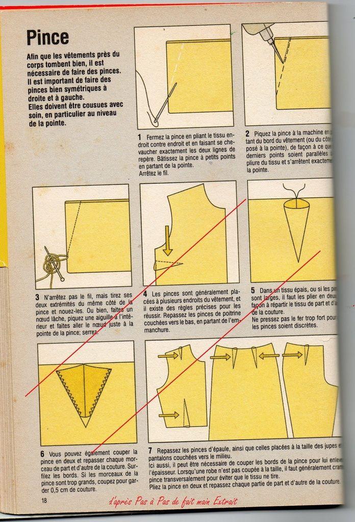 Apprendre à Coudre à La Main : apprendre, coudre, Couture, Facile, Pinces., C'sur, Mesure, Facile,, Coudre,, Cours