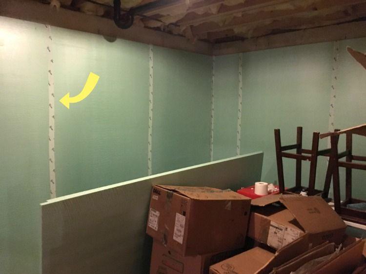 Basement Office Reveal Basement Office Concrete Basement Walls Concrete Walls Interior