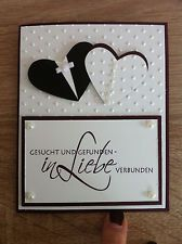 stampin up gl ckwunschkarte hochzeit wedding pinterest cards wedding card and cardmaking. Black Bedroom Furniture Sets. Home Design Ideas