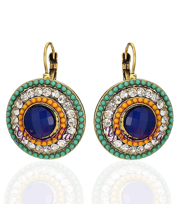 YouBella Fashion Jewellery Bohemian Stylish Multi-Color Fancy ...