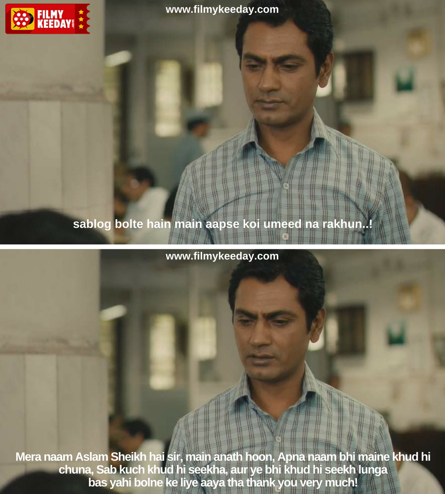 Nawazuddin Siddiqui in The Lunchbox Dialogues, Memes