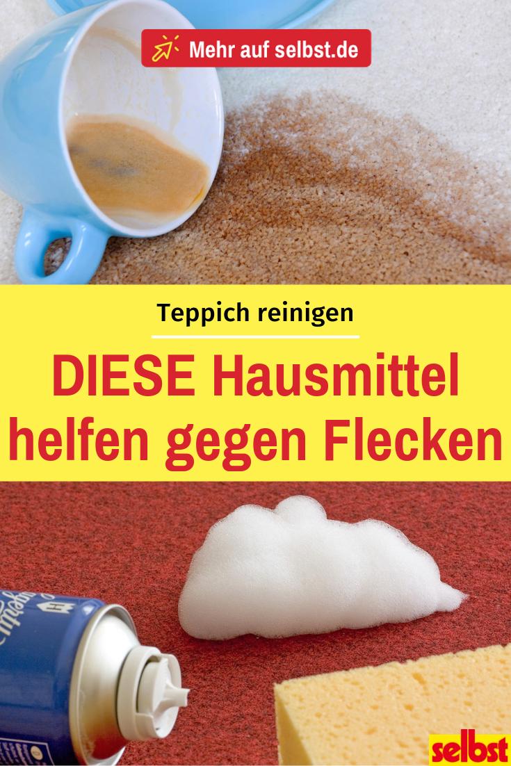 Teppich reinigen   Reinigungstipps   Teppich reinigen, Polster ...