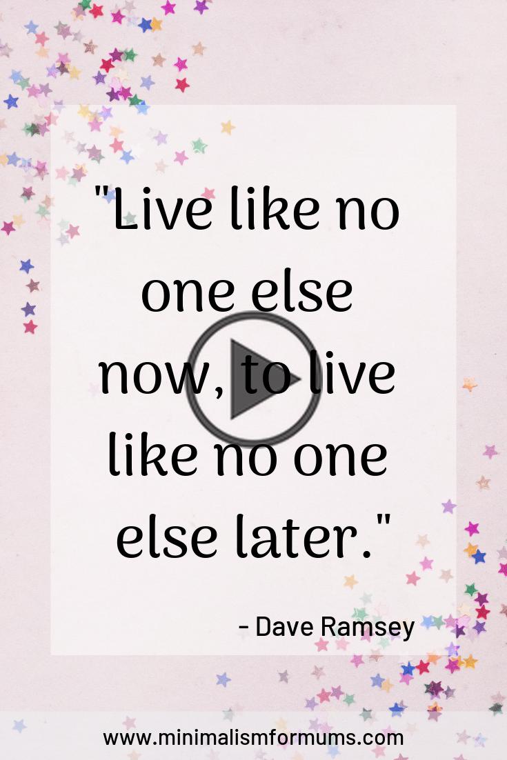 Live like no one else - Dave Ramsey Motivational Money Quotes#dave #live #money #motivational #quotes #ramsey #newmonthnewgoals
