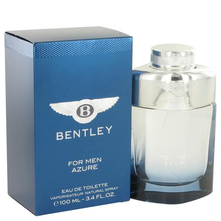 Created in 2014 by the design house of Bentley, Bentley Azure is a men's fragrance that captures the essence of sea air on your face on a hot summer day. Aromatic and spicy, Bentley Azure is a fragrance for any man that desires a carefree yet confident scent that lasts throughout the day and into the night. The citrus aroma comes from juicy pineapple and mandarin, which lifts your spirits.