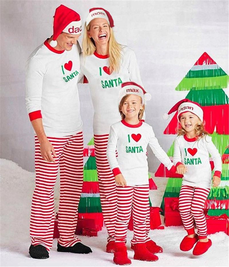 9287fa5857 Christmas Family Pajama Sets