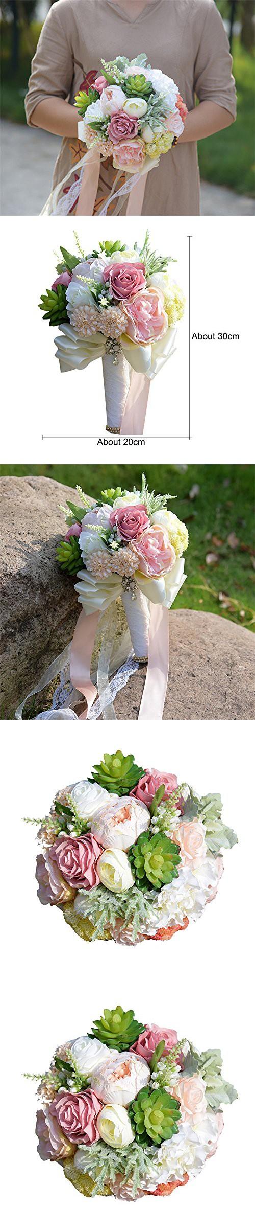 Kuki shop handmade creative flowers and succulent plants wedding kuki shop handmade creative flowers and succulent plants wedding bouquet bridal holding bouquet bridal throw bouquet izmirmasajfo