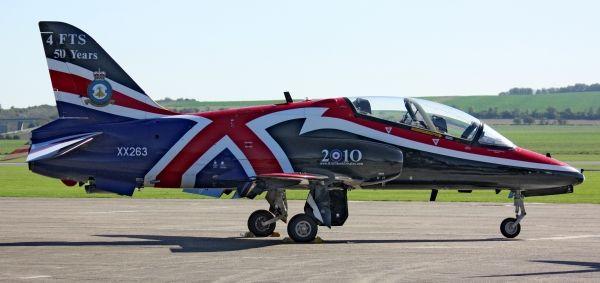 BAE Hawk - Duxford Airshow Oct 2010