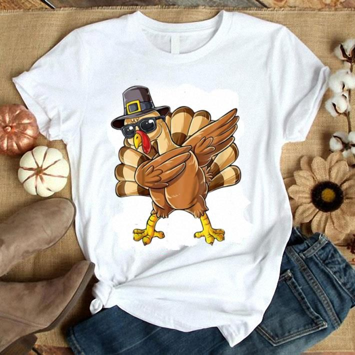Dabbing Chicken Turkey Thanksgiving Shirt hot picture