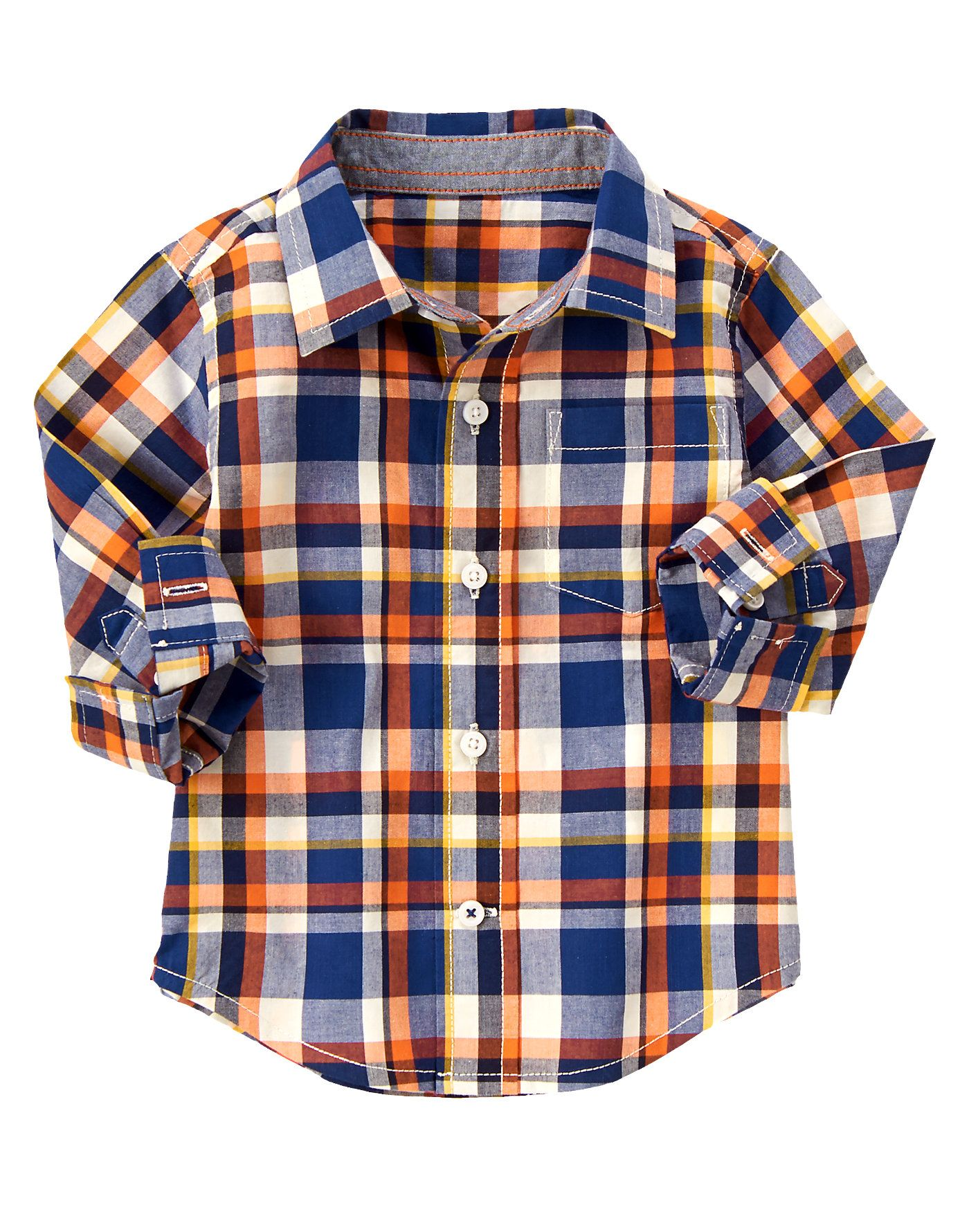 Flannel shirt for baby boy  Plaid Shirt at Gymboree  Fall Pictures  Pinterest  Gymboree