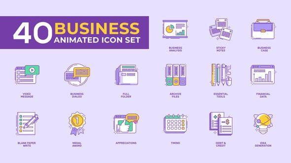 Upbeat Opener By Shymoff On Business Icon Animated