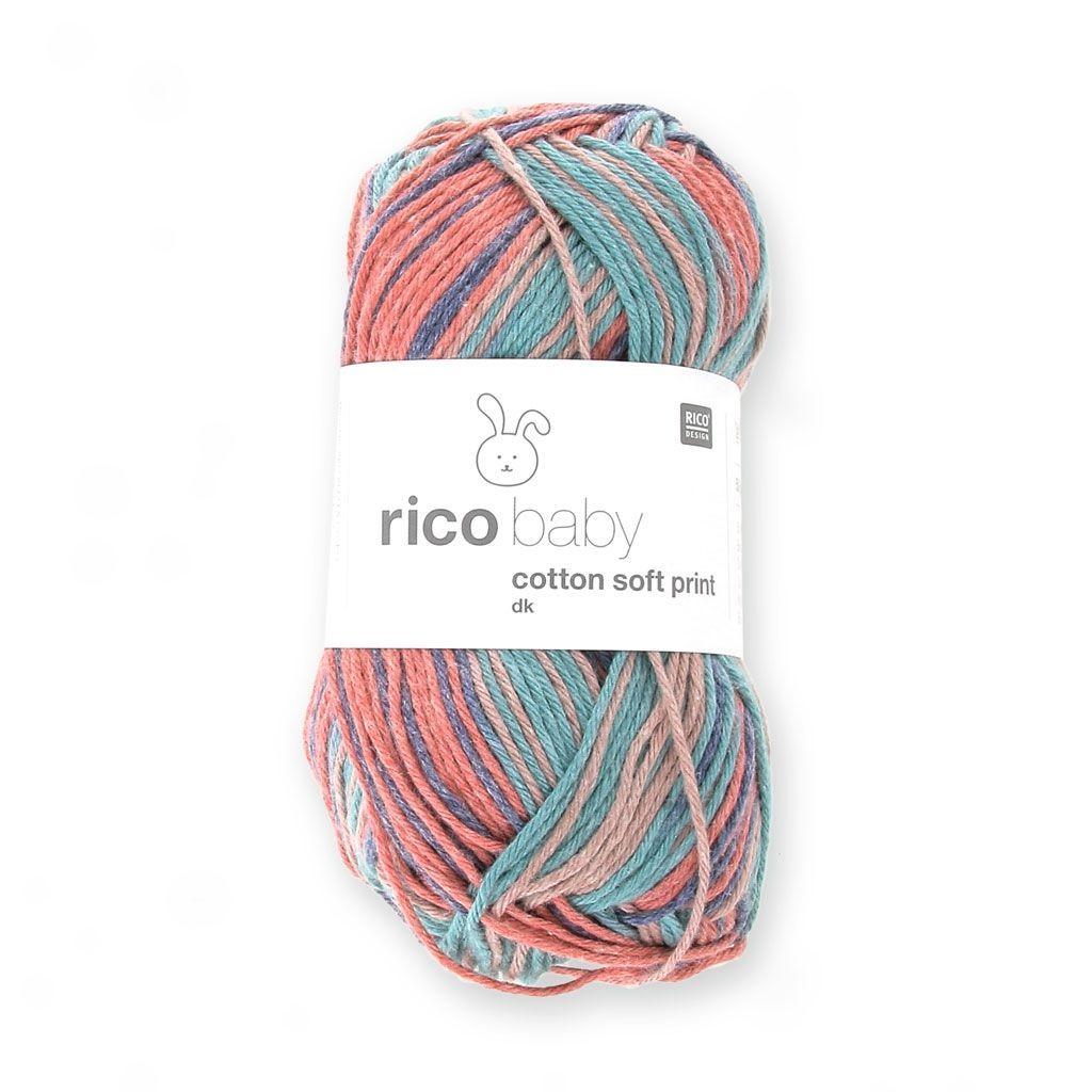 quelle laine pour couverture bébé Laine Rico Baby Cotton Soft dk de Rico Design. Vous vous demandez  quelle laine pour couverture bébé