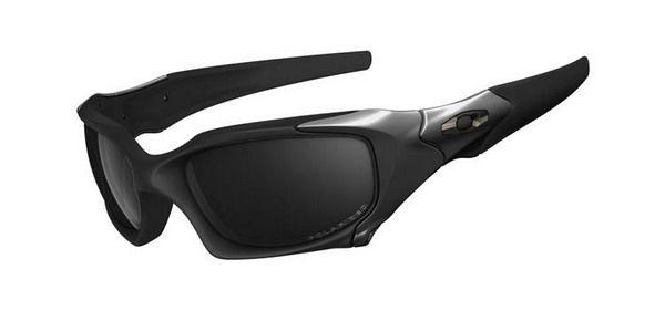 Oakley Pit Boss Matte Black Titanium Black Iridium Sunglasses