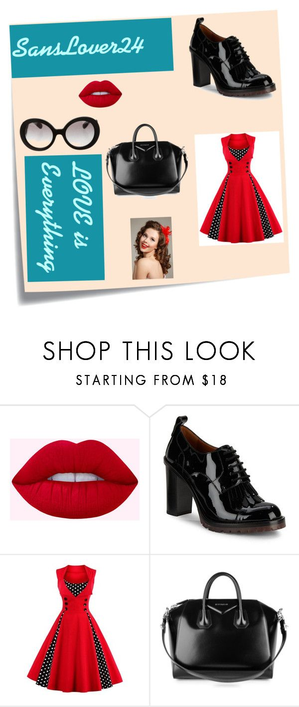 """""""1940's"""" by ballet-gal123 on Polyvore featuring Post-It, Valentino, Givenchy and Prada"""