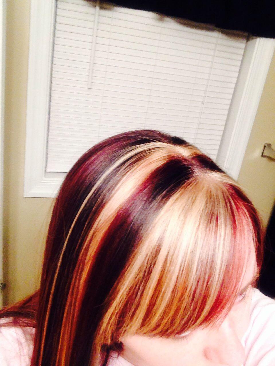 Cherry coke highlights Hair color cherry coke, Hair