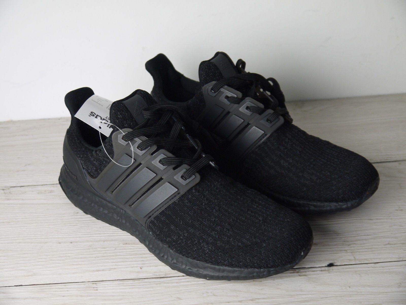 37056eda81746 ... 115.15 usd mens footwear adidas ultra boost 3.0 triple black ba8920  2017 size