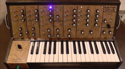 Guenther Chiptune war ein Synthesizer Projekt eines Elektronik Nerds ...
