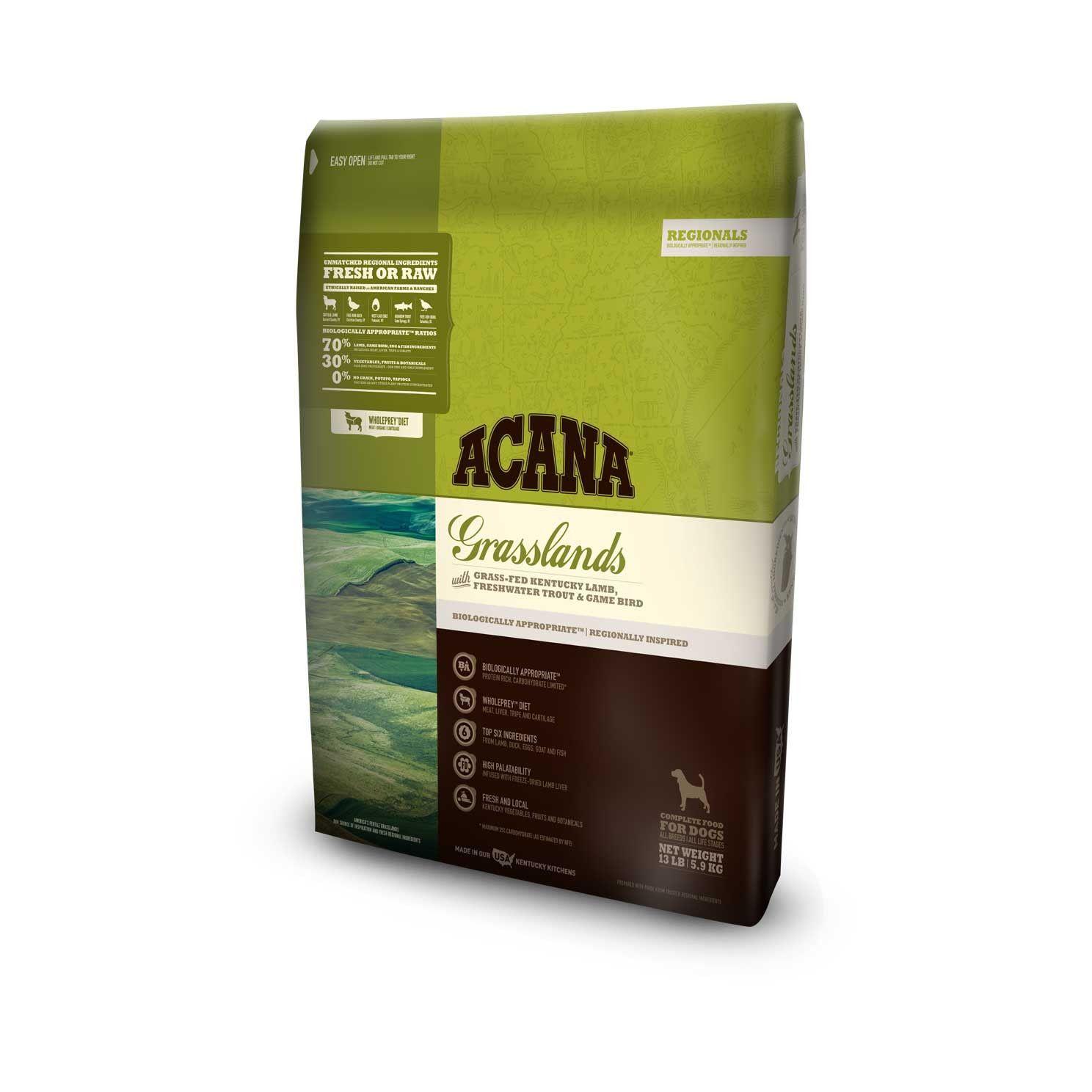 Acana Dog Food Regionals Grasslands Acana Dog Food Dry Cat