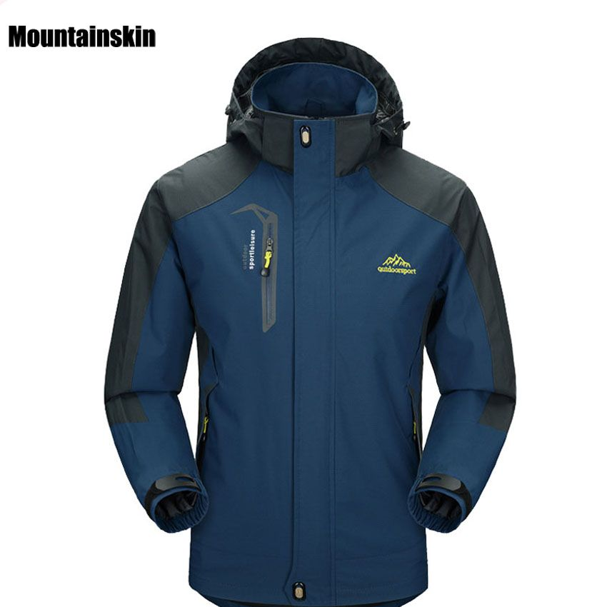 2017 New Spring Autumn Mens Softshell Hiking Jackets Male Outdoor ...