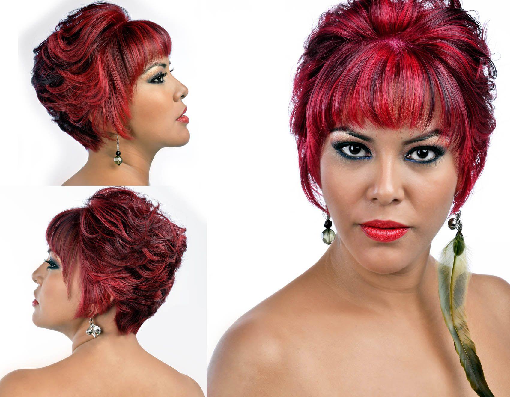 corto erótica cabello rojo