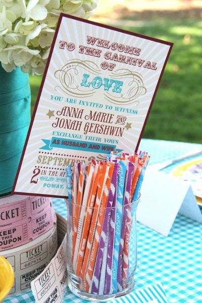Carnival Themed Wedding Ideas Inspiration Boards Photos On WeddingWirethat Would Be Fun