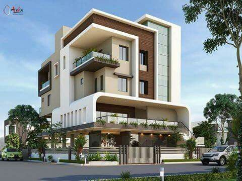 RABTEK Modern 3D Design Residential and Office Bldg