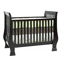 Baby Cache Essentials Sleigh Crib Espresso Baby Boy Nursery