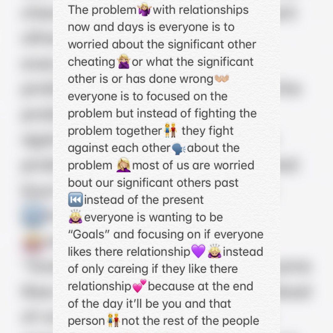 RS relationships ourworld problems weposteveryday explorepage