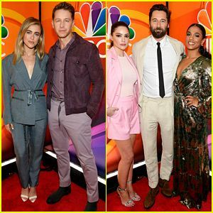 NBCs Stars From Returning Shows Attend 2019 Upfronts  2019 Upronts Week Ch