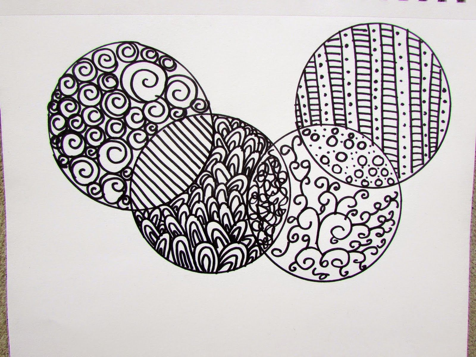 Art Journaling with Kids: Simple Zentangle Designs