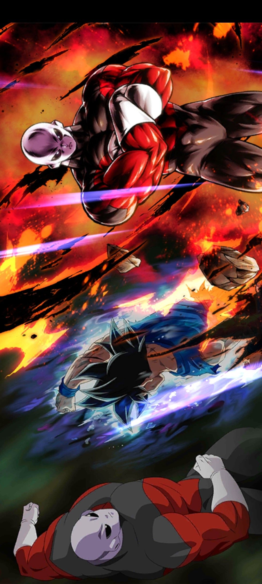 Jiren Banner Dragon Ball Artwork Dragon Ball Art Dragon Ball Super