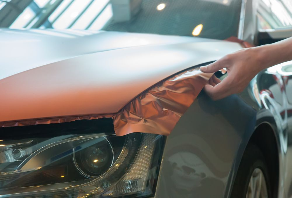 How much does it cost to wrap a car in the garage with