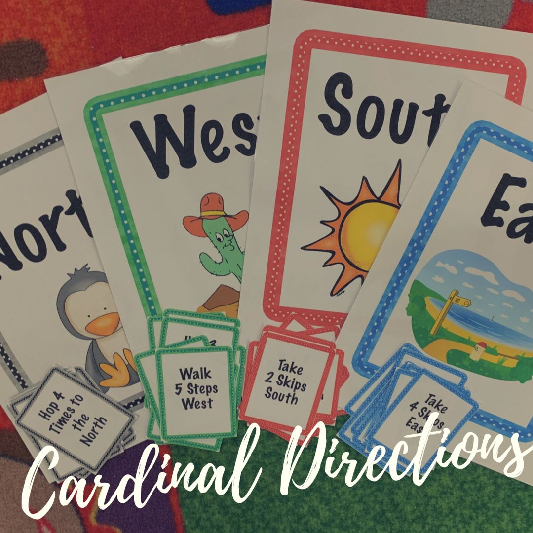 Fun Game For Learning Cardinal Directions