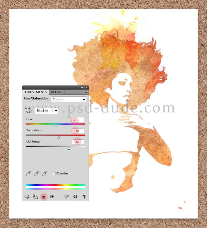 how to create a watercolour effect with spraycans