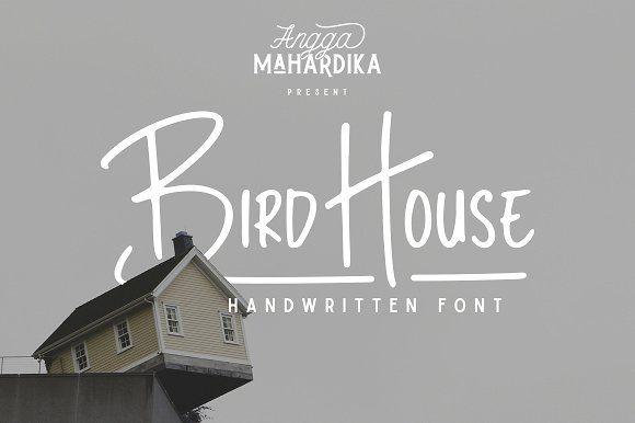 Bird House by Angga Mahardika on @creativemarket