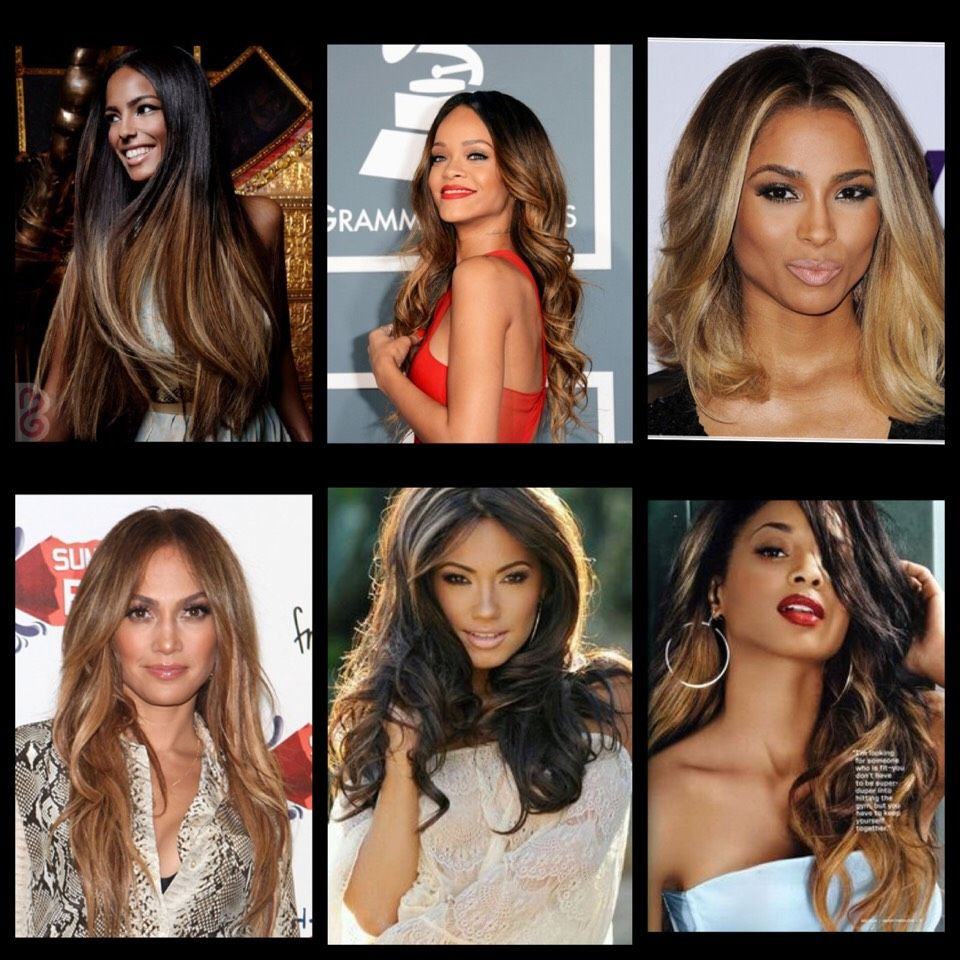 Ombre Hair Color For Dark Skin Makeupsite