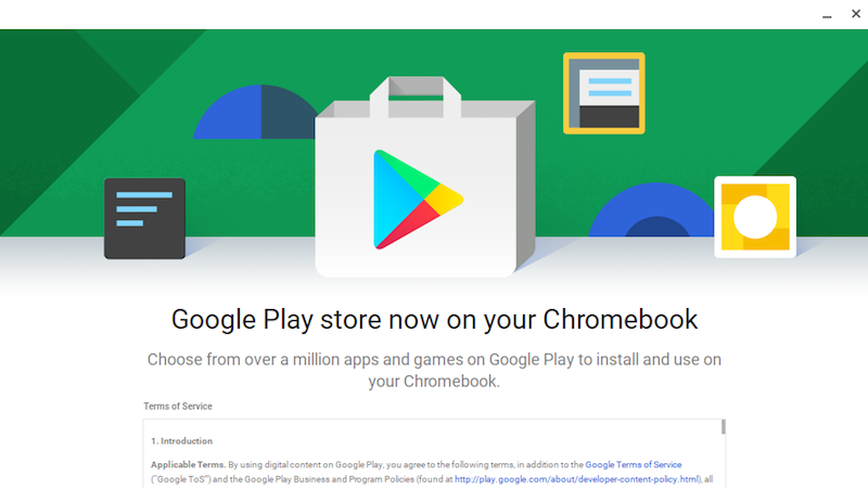 The Google Play Store Is Now Available in Chrome OS, Brings
