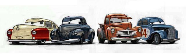 Cars 3 Louise Nash Junior Midnight Moon Smokey River Scott Misc