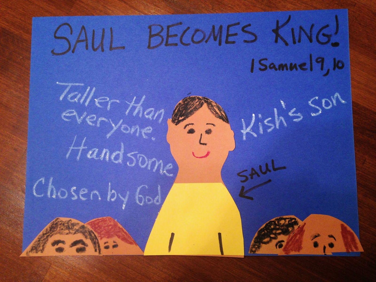 children u0027s bible lessons lesson saul becomes king bible ot