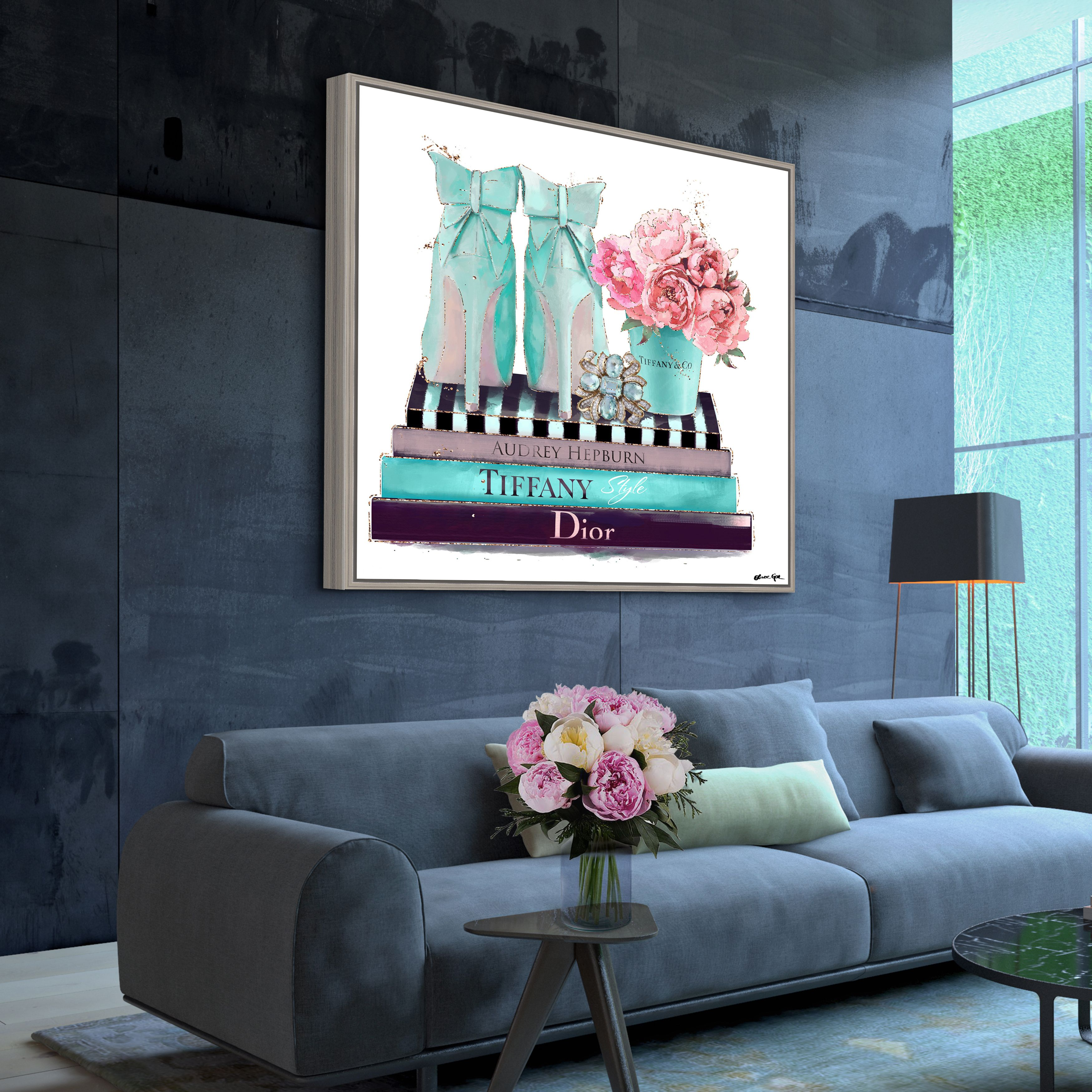 My Favorite Things Wall Art In 2020 Blue Wall Art Blue Decor Home Decor