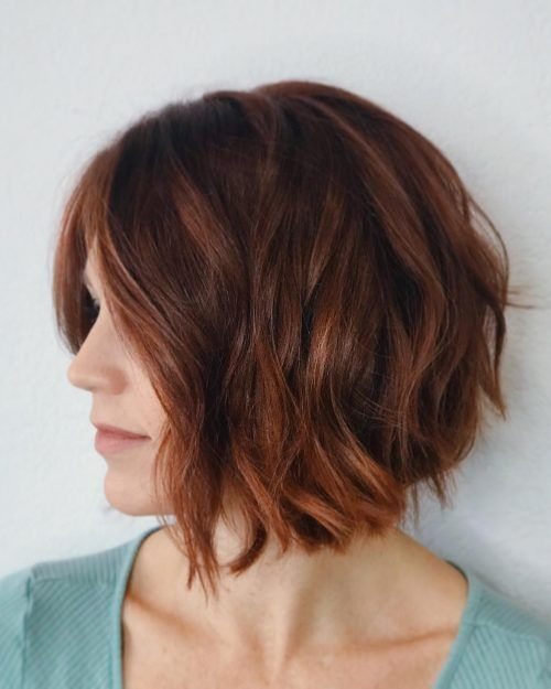 20 Dark Auburn Hair Color Ideas Trending in 2020